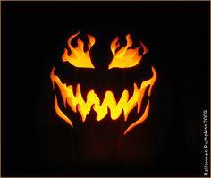 5 free venom scary halloween pumpkin carving stencils. Black Bedroom Furniture Sets. Home Design Ideas