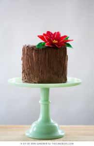 Ayer publicamos algunas ideas para la fiesta de nochebuena, y tal como prometimos, hoy completamos la propuesta con los pasteles mas únicos y elegantes.