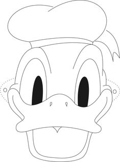 Coloring Pages Animal Masks Best Of Donald Mask Printable Coloring Page for Kids Printable Coloring Pages, Coloring Pages For Kids, Coloring Books, Donald Duck Party, Duck Mask, Dagobert Duck, Imprimibles Toy Story Gratis, Disney Quilt, Hat Template