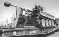 Tiger I transport