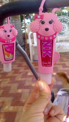 ♥ Liliana Marisoleil♥ : Pink poodle porta lip gloss limonada pink