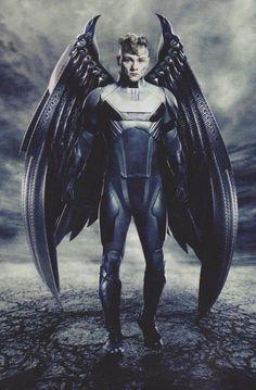 Angel / Ben Hardy from « X-Men - Apocalypse Man Movies, Comic Movies, Marvel Movies, Xmen Apocalypse, Ben Hardy, Psylocke, Hugh Jackman, Wolverine, Arte Do Hulk