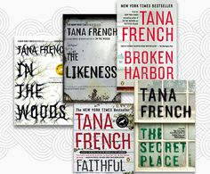 Tana French's Dublin Murder Squad series, a masterful set of five detective novels that constructs a deeply observed portrait of modern Dublin. Seeing a city unfold over time through the eyes of a detective is, of course, one of the great pleasures of crime fiction....Tamy Oler, Slate