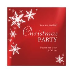 free printable christmas invitations template | printables, Party invitations