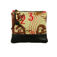 123 Pouch Large Green now featured on Fab.
