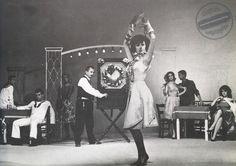 """Η Μάρθα Καραγιάννη στη ταινία του 1964, """"Κάτι να καίει"""". … Greek, Cinema, Concert, Movies, Concerts, Greece, Movie Theater"""