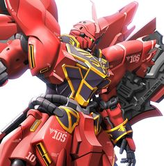 The MSN-06S Sinanju (aka Sinanju, MSN-06S) is a mobile suit featured in Mobile Suit Gundam Unicorn. It is the modified version of Anaheim Electronics's MSN-06S Sinanju Stein. It is piloted by Full Frontal (aka the 2nd coming of Char).