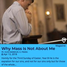 When was the last time you went to Mass but didn't go to Communion? In Sunday's homily, Fr. Hugh Barbour says not to worry—we can still participate in the sacrifice even when we don't receive.  #CAMO #Catholic #CatholicAnswers #CatholicChurch #Catholicism #Catholicfaith #Catholics
