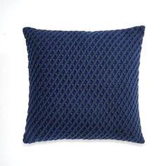 Nautica® Haverdale Knit Square Throw Pillow - BedBathandBeyond.com