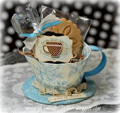 Stampin' Up! Tea Cup  by Mercedes Weber at Creations by Mercedes
