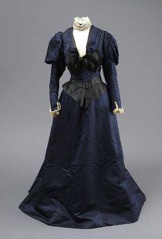 Dress, ca 1894 made by Madame Clapham