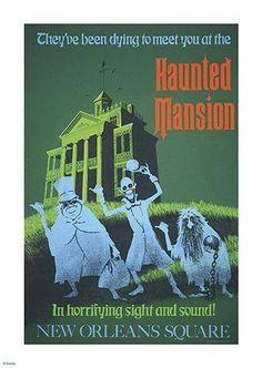 My favorite Haunted Mansion!