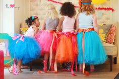 Cotton Candy Party Tutus