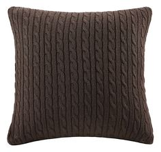 Woolrich Hadley Plaid Bedding Collection Cable Knit Square Pillow | Bass Pro Shops