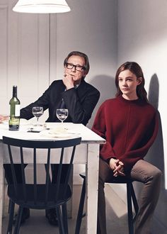 Billy Nighy and Carey Mulligan photographed by Mikael Jansson for Vogue, June 2014