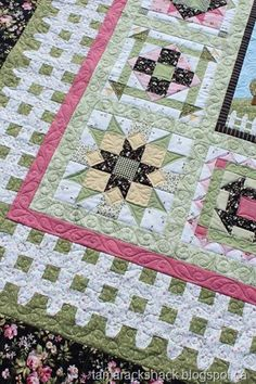 Patchwork Party Wild Rose Cottage Has A Hidden Gem – Quilting Cubby Longarm Quilting, Free Motion Quilting, Quilting Projects, Quilting Designs, Crazy Quilting, Quilting Ideas, Embroidery Designs, Beginner Quilting, Crazy Patchwork