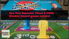We played the Are You Smarter Than A Fifth Grader board game; it plays just like the television show and is great fun for family game night bragging rights.