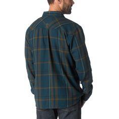 Plaid Shirts for Men, Button Down Shirts for Men | prAna Felix Flannel Shirt