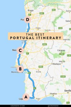 The best Portugal itinerary. See a mixture of the best cities in Portugal and laidback beach towns like Lagos in the Algarve. #portugal #lisbon #lagos #itinerary #smalltowntravel