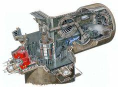 The Death Star Project throne room cutaway