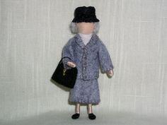 Miss Marple Doll Wool Felt Mystery Crafts, Agatha Christie's Marple, Miss Marple, Hercule Poirot, Book Tv, Felt Dolls, Vintage Dolls, Needle Felting, Wool Felt