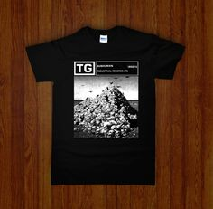 THROBBING GRISTLE Shirt - Night Channels