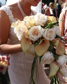 Marquee Wedding Flowers by Ambience Wirral Florist