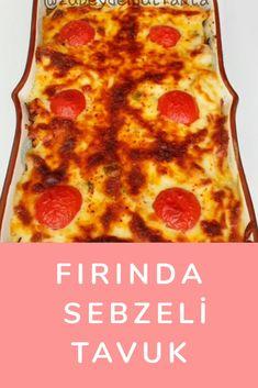 Fırında Sebzeli Tavuk Pepperoni, Pizza, Food, Essen, Meals, Yemek, Eten