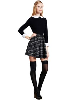 ... . Kind of reminds me of private school uniforms. (via Alice + Olivia