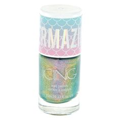 Bring out your inner mermaid with this mermazing nail polish! The chrome finish has the polish shifting from color to color at different angles! Chrome Nail Polish, Cute Nail Polish, Chrome Nails, Rock Nails, Christmas Manicure, Mermaid Nails, What Is Christmas, Best Acrylic Nails, Nails Magazine