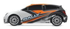 1/18 LaTrax 4WD Rally Car RTR, Orange