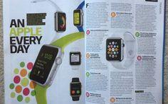 L'Apple Watch ottiene due pagine sulla rivista Fitness First