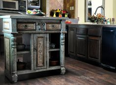 Who loves old world furniture made just for their space?  Our customers do. modern-kitchen