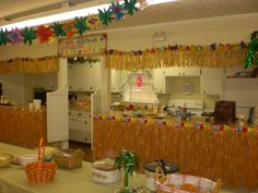 http://www.bing.com/images/search?q=vbs island decor  could we add a string across top of the sanctuary front?
