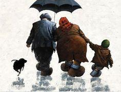 Artistas Jeff Rowland y Alexander Millar - dúo dinámico pintan juntos por caridad!