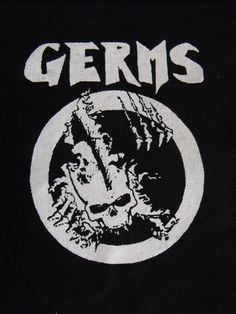 GERMS patch punk rock Free Shipping by LordOfTheLeftHand on Etsy, $2.99