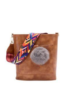 GET $50 NOW   Join Zaful: Get YOUR $50 NOW!https://m.zaful.com/colorful-strap-pompon-shoulder-bag-p_244693.html?seid=5045277zf244693