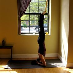 Want to Stand on Your Head? Yoga Sequence to Get You There