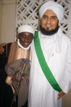 SHEIKH SHARIFF meets Islamic scholars among them HABIB JIFRY