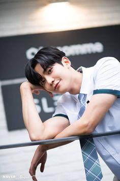"NAVER × Dispatch promotion for ""Extraordinary You"" Drama Jung Hyun, Kim Jung, Asian Actors, Korean Actors, Korean Celebrities, Kim Ro Woon, Kim Myung Soo, Fnc Entertainment, Kdrama Actors"