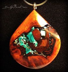Turquoise and wood, oh hello beautiful natural elements that I love all wrapped up into one