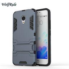 Caso de doble capa de cubierta para meizu m3s tpu suave y delgada de plástico a prueba de golpes caja del teléfono titular de coque para meizu m3s m3 mini> <