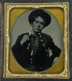 Portrait of Young Mr. Hayden, a native of New Orleans,c. 1850