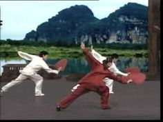 Tai chi fan - a bit slow but nice to get the idea of the movements.