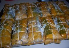 Pasteles - Puerto Rico food, this pasteles will be in my freezer packed. Puerto Rican Dishes, Puerto Rican Cuisine, Puerto Rican Recipes, Pasteles Puerto Rico Recipe, Puerto Rico Food, Comida Latina, Spanish Dishes, Spanish Food, Holiday Recipes