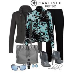 "NYFW CARLISLE CONTEST: ""Carlisle Casual"" by imclaudia-1 on Polyvore"