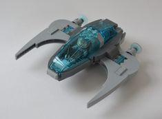 One seater aqua space craft | by Guido Martin-Brandis