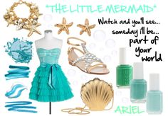 Ariel Inspired Outfit from The Little Mermaid