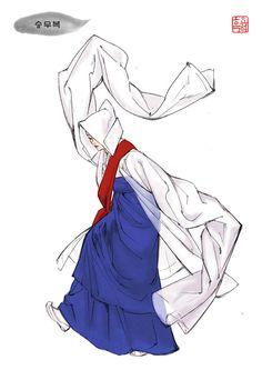 Grafolio Korean Traditional Dress, Traditional Dresses, Korea Dress, Korean Hanbok, Fade Styles, Whimsical Fashion, Korean Art, Korean Outfits, Historical Clothing