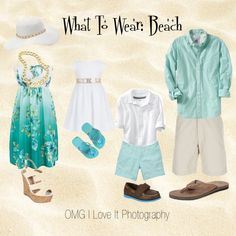 What To Wear: Family photos on the beach Family Portrait Outfits, Family Beach Portraits, Family Beach Pictures, Family Picture Outfits, Beach Photos, Family Posing, Family Pics, Clothing Photography, Beach Photography
